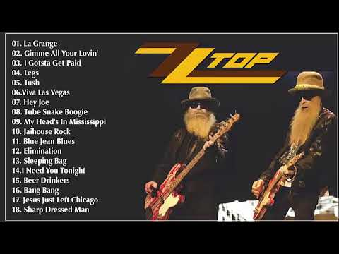 ZZ Top Greatest Hits 2018 - Best Songs Of ZZ Top 2018 - Top 30 Rock Songs Ever 2018