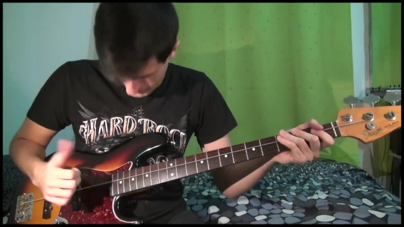 ONE STRING BASS SOLO