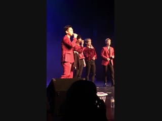 20.11.18 Himchan & Youngjae - HB @ 2018 B.A.P. North America Tour