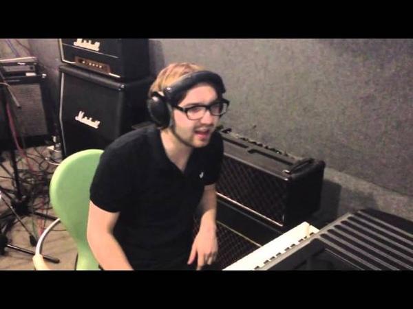 Брукс в студии - Fender Rhodes and Korg Microstation