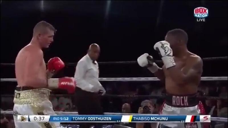 Тхабисо Мчуну vs Томас Вестхайзен (Thabiso Mchunu vs Thomas Oosthuizen) 01.09.2018