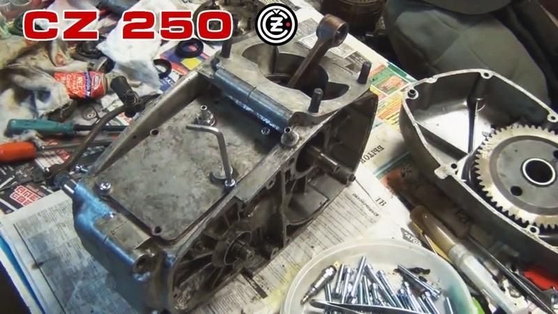 CZ 250: Сборка двигателя (продолжение)