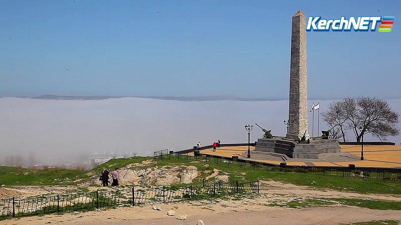 Керчь поземный туман