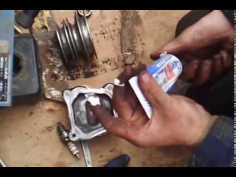 сборка двигателя хонда-200 от мотоблока нева-2 часть-3