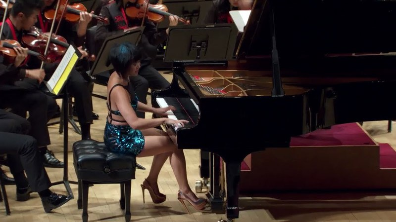 Yuja Wang Tchaikovsky's Piano Concerto No 1 Encore at Carnegie Hall FULL Video in HD