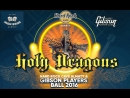 HOLY DRAGONS live at Gibson Players Ball, Hard Rock Cafe Almaty (1st Dec. 2016)