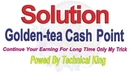How To Get Golden tea Earning Game Cash Point OR Withdraw Solution