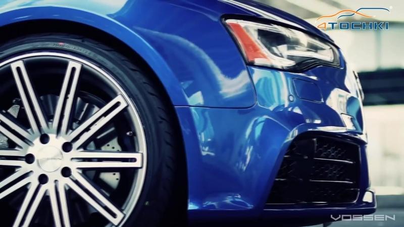 Audi RS5 на 20 дисках Vossen VVS CV4 Concave на 4 точки. Шины и диски 4точки - Wheels Tyres
