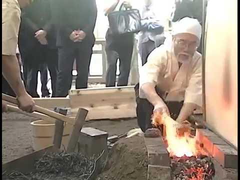 Forger un katana Forging a Katana 日本刀奉納鍛錬