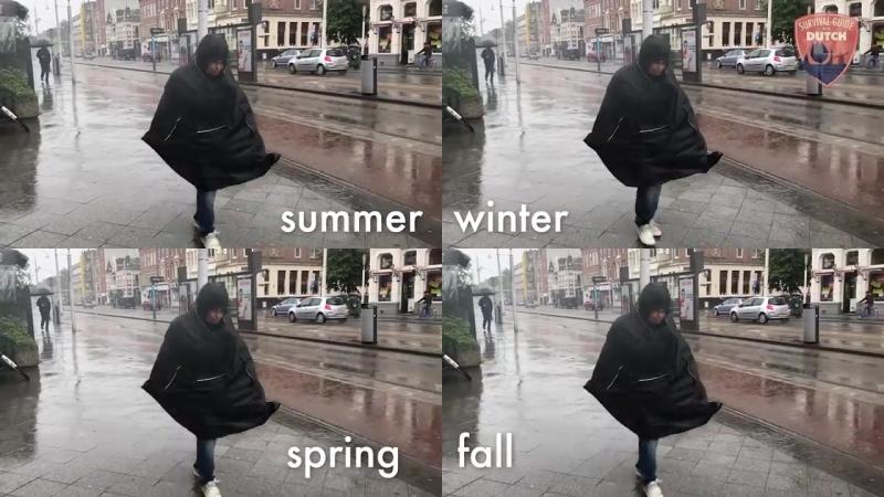 Как выжить в голландскую погоду