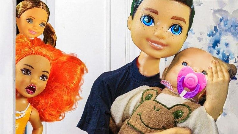 КАК МАЛЬЧИКИ ИГРАЮТ В КУКЛЫ. Мультики Барби barbie дщд lol