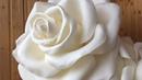 РОСТОВЫЕ ЦВЕТЫ мастер-класс. Настольная роза из изолона.