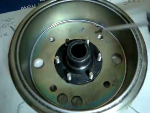 лодочный мотор Салют установка зажигания (ч-2 распиновка)