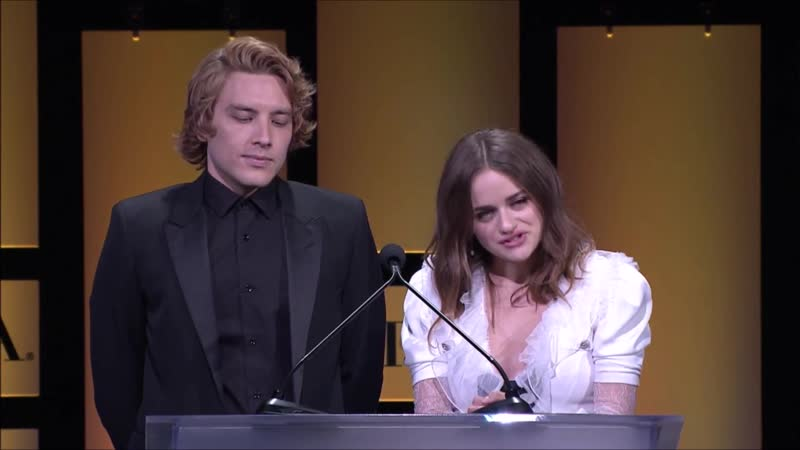 HFPA Grants Banquet 2018 Cody Fern and Joye King