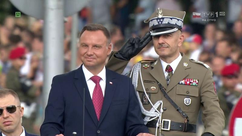 Święto Wojska Polskiego 15-08-2018 Defilada Niepodległości