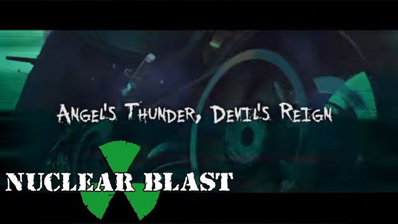RIOT V - Angels Thunder, Devils Reign (OFFICIAL LYRIC VIDEO)