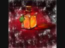 Оранжевая бутылка (пробная)