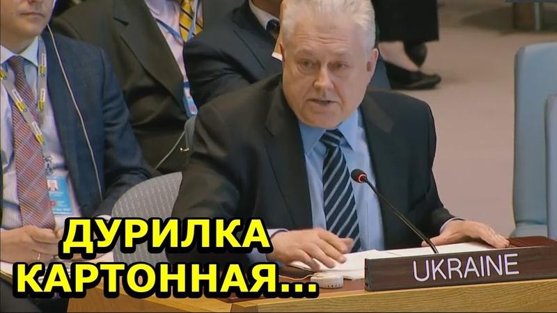 Ельченко в ООН про выдачу российских паспортов в ДНР, ЛНР