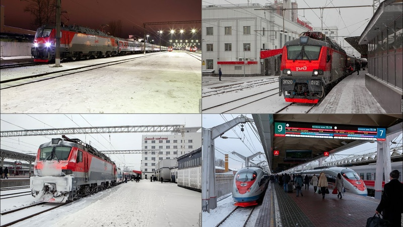 Velikiy Novgorod — Nizhniy Novgorod by а new night train, and back by high-speed trains