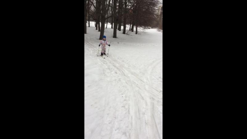 РАУЛЬ на лыжах 2018 Февраль