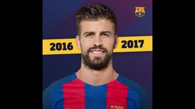 2008 ️ 2018 - @3gerardpique made his first team debut years ago today! - - .mp4