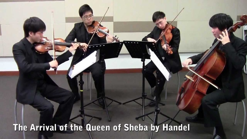 The Arrival of the Queen of Sheba (Singapore String Quartet)
