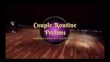 Savoy Cup 2018 - Couple Routine Prelims - Angelique Larque &amp Claude Gomis
