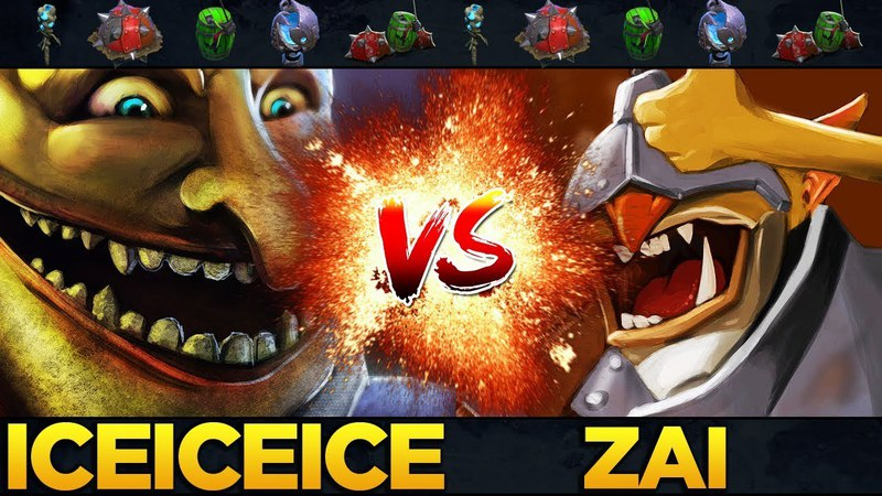 Techies back in CM! Who is the better Techies Spammer? iceiceice vs zai - Dota 2 KABOOM!
