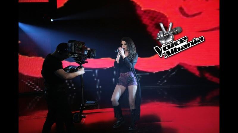Frosina Muji - Hero (The Voice of Albania 5   Netet Live 2)