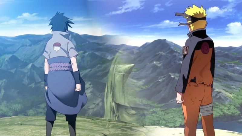 Naruto : полный бой саске и наруто без реклам и лишней перхоти