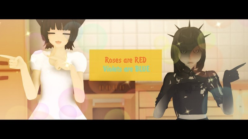 MMD Roses are RED Violets are BLUE OC