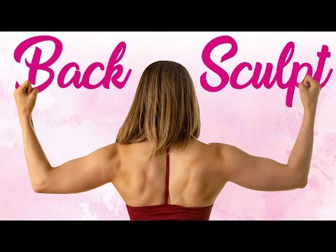Sculpt Your Back, Shoulders Arms, Improve Posture Look Taller! 10 Min. HIIT Workout at Home