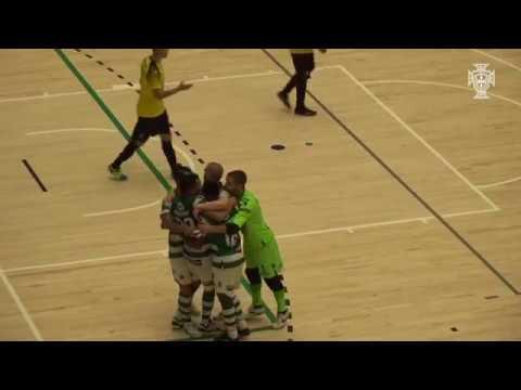 Liga Sport Zone, 5.ª jornada Sporting 2-2 Quinta dos Lombos