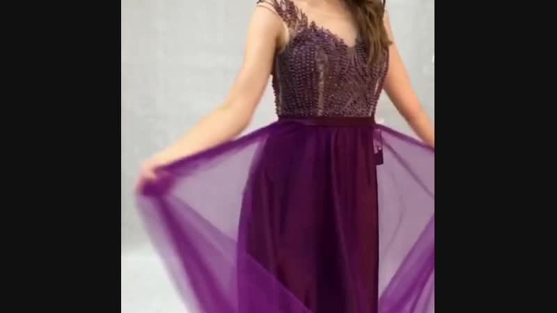 43-14 Вечернее платье