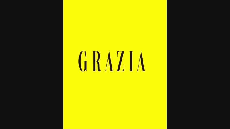 Промо ноябрьского выпуска «Grazia»