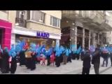 Протесты уйгурских мусульманок [Dagestan today]