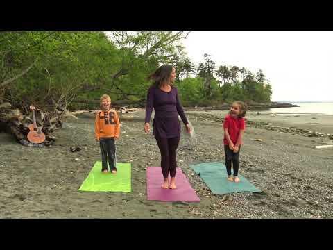 Behind The Scenes Alyssa Jean Yoga for Kids II