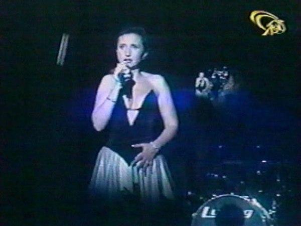 Ирина АЛЛЕГРОВА, Я ТУЧИ РАЗВЕДУ РУКАМИ, Шоу-программа Столик на двоих, Луганск, 1998