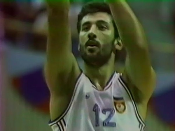 1988.09.30 Olympic Games Basketball Final USSR - Yugoslavia 7663 Lithuanian comment