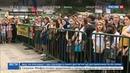 Новости на Россия 24 • Песни военных лет исполнил многонациональный хор в Махачкале