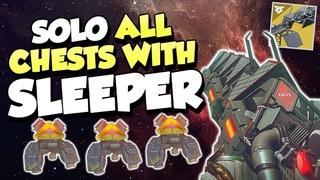 Solo All Raid Chests With Sleeper Simulant! [Destiny 2 Leviathan Raid]
