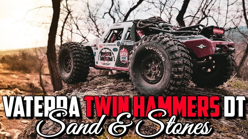 Vaterra Twin Hammers DT - Sand and Stones Run