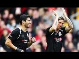 Fernando Torres &amp Luis Suarez vs Carragher XI 2015
