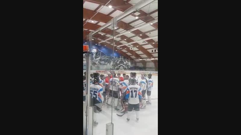 Это любительский хоккей в Ростове детки