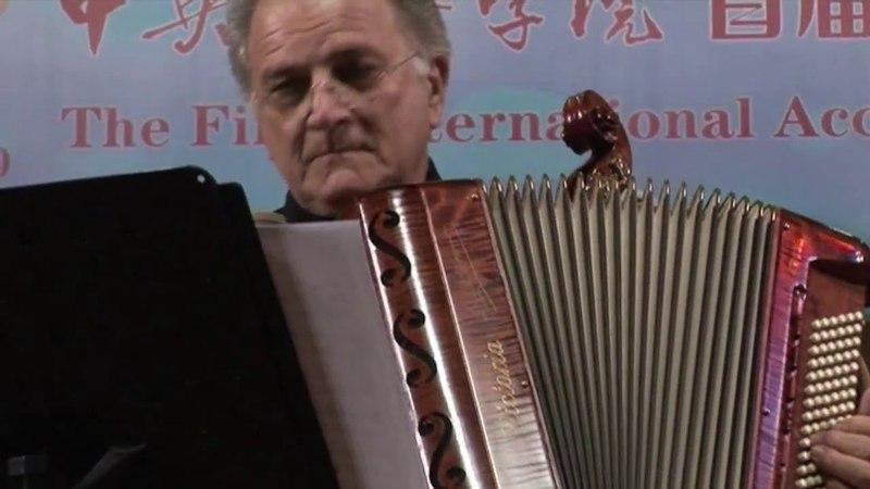 Frank Marocco performing in Beijing, November 2011