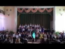 впервые мои дочери участвуют в сводном хоре!
