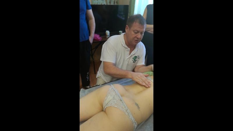Шведский массаж 4 Пальпация тканей. Поиск анатомических ориентиров.