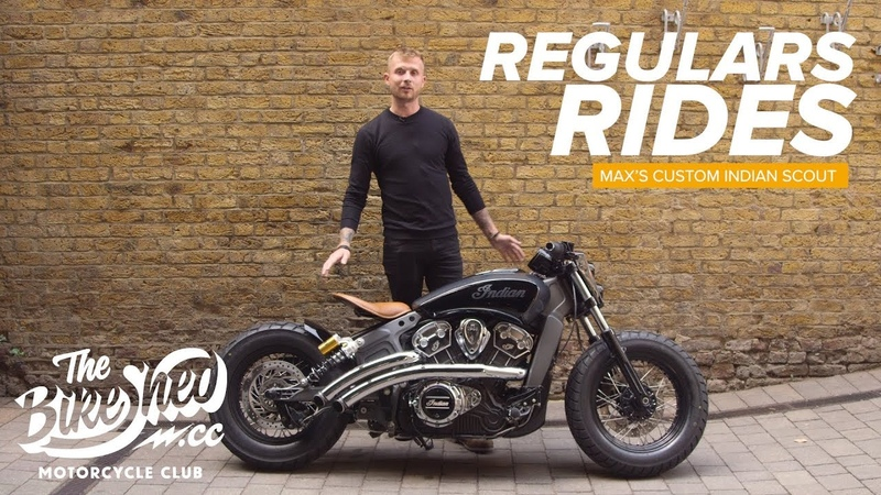 Regulars Rides Maxs Custom Indian Scout