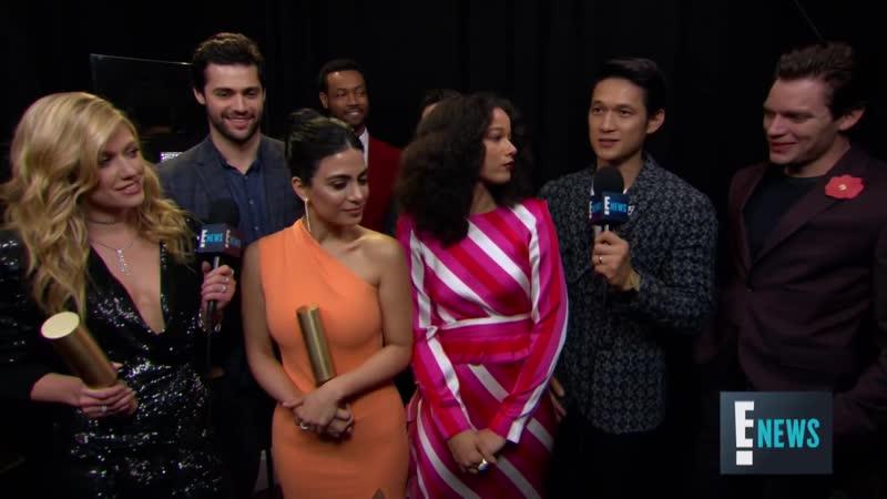 Интервью для E! News «2018 E! People's Choice Awards» (11 ноября 2018)