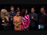 Интервью для E! News 2018 E! People's Choice Awards (11 ноября 2018)